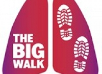 The Big Walk: 286 miles in 15 days raising funds for Lung Disease research.